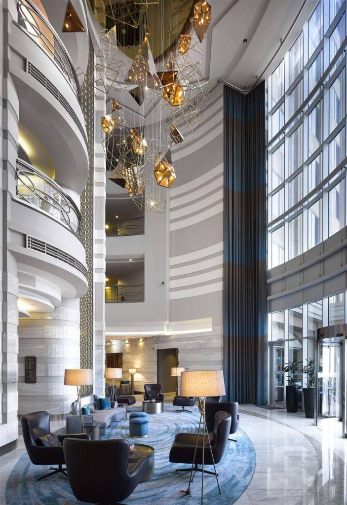 Sheraton Dubai Mall Of The Emirates Hotel Preciosa Lighting